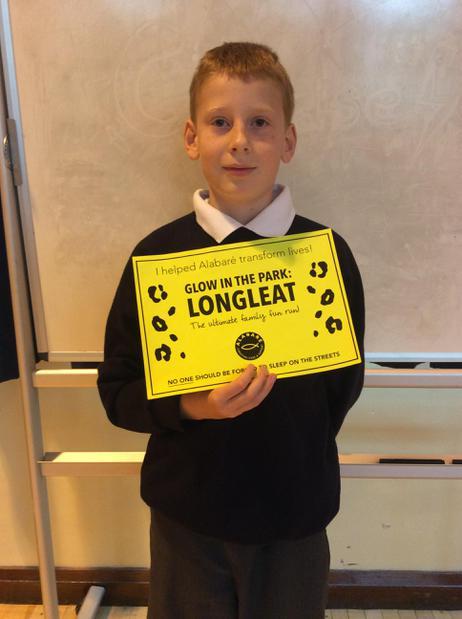 Well done for entering the Longleat fun run Sean.