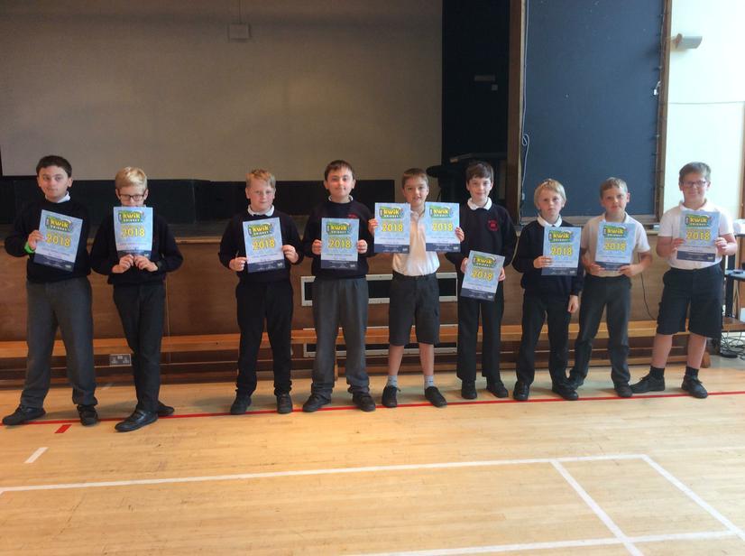 Year 5 semi-finalists