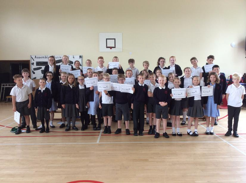 Well done to all pupils who took part this year.