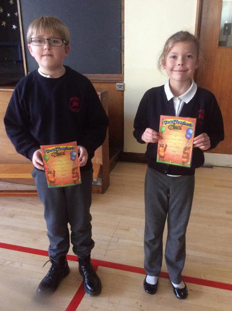 Class' of the week - Red and Green - Well done!