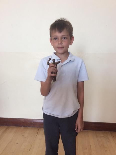 Top bowler in cricket - well done Daniel