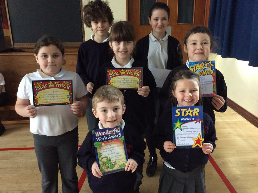 🌟Stars of the week 🌟