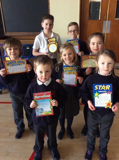 🌟 Stars of the week - 20/1/17🌟