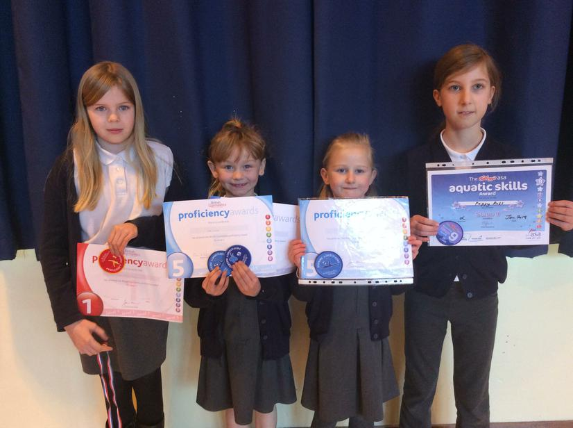 🌟Gym and Swimming achievements - well done🌟