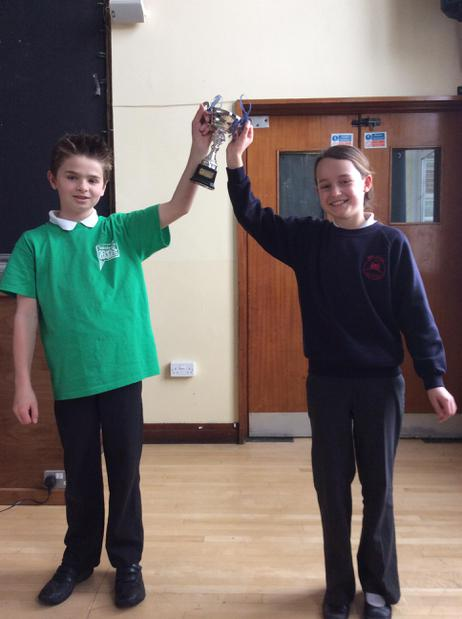 Well done to Shreen for winning the House Cup.