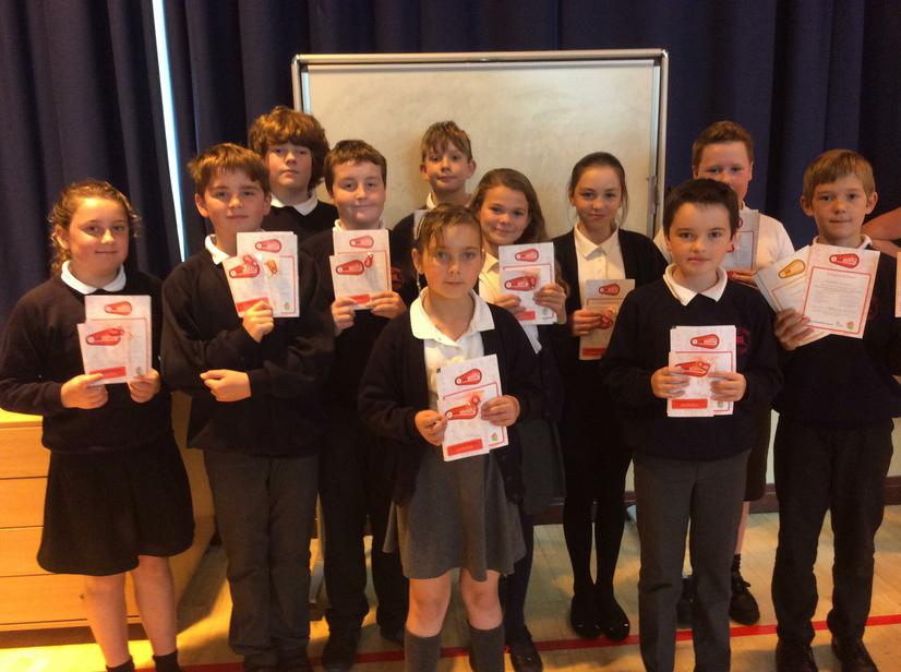 Well done for completing the Bikeability Course.