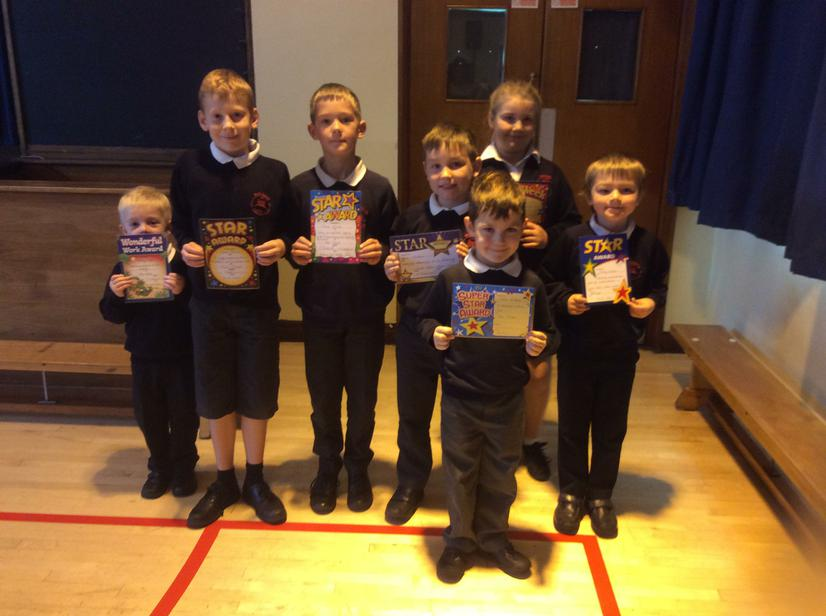 Well done to our stars this week- 21/10/16