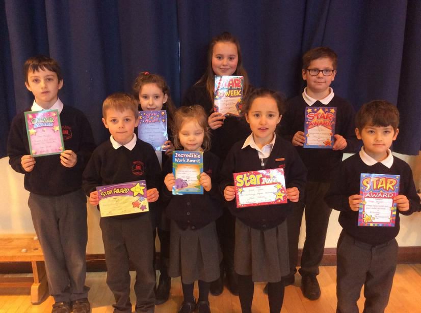 🌟Our super stars for the week🌟