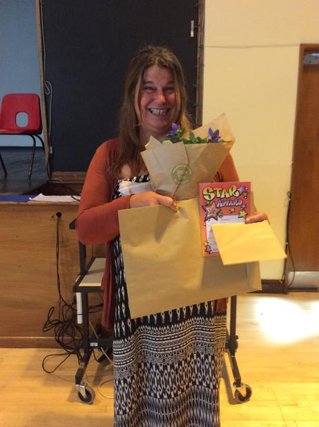 Goodbye and good luck to Ms Tozer