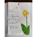 A super poem and lovely art work Ella!