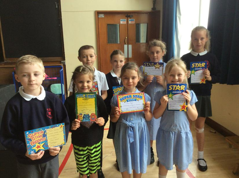 Our weekly super stars 10/6/16