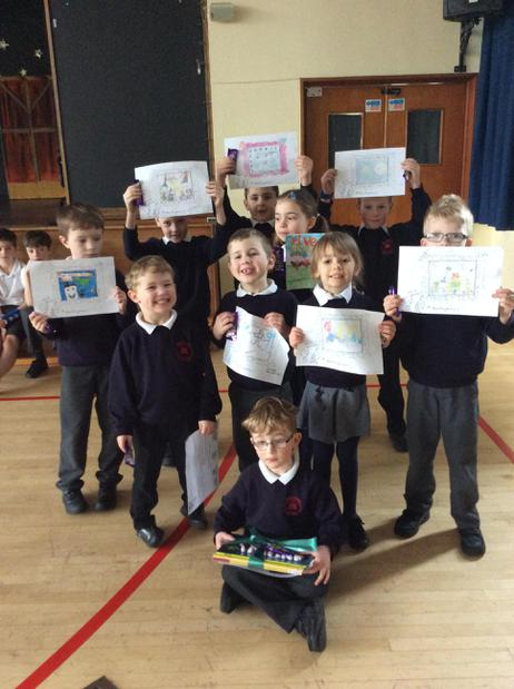 KS1 Book Cover Competiton - Well done Ben