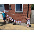 VE Day bunting by Ciaran