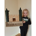 A fantastic castle by Evie