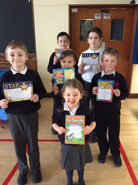 🌟 Stars of the week 27/1/17🌟