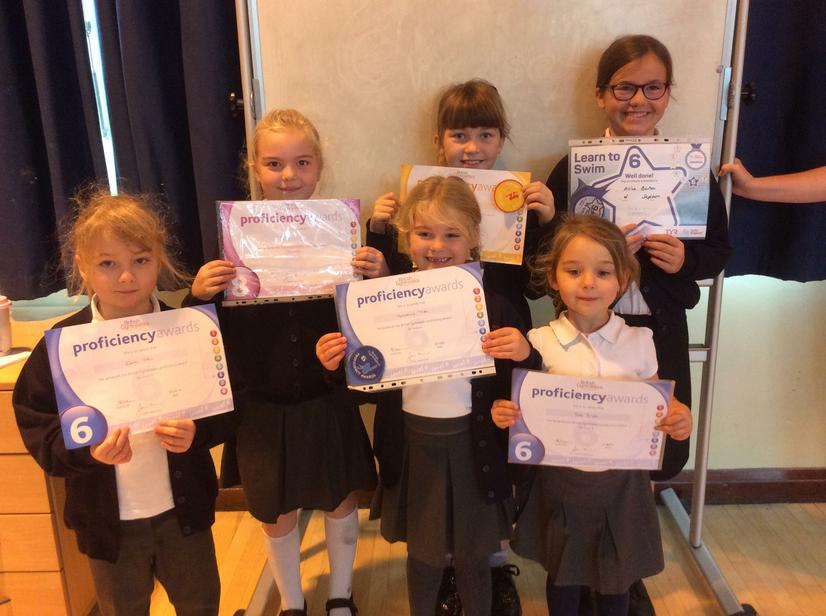 Great achievements from our gymnasts and swimmers
