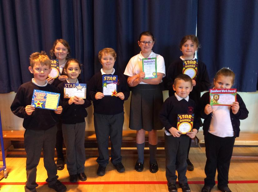 This weeks super stars ⭐️