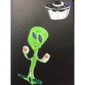 Marley's alien!