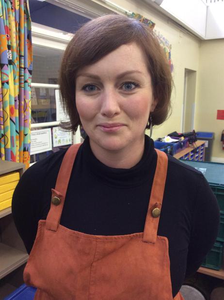 Mrs Carrie-Anne Sayer - Blue Class Teaching Asst