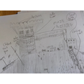 Sammy's castle diagram.