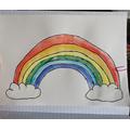 What a cheerful rainbow Ella!