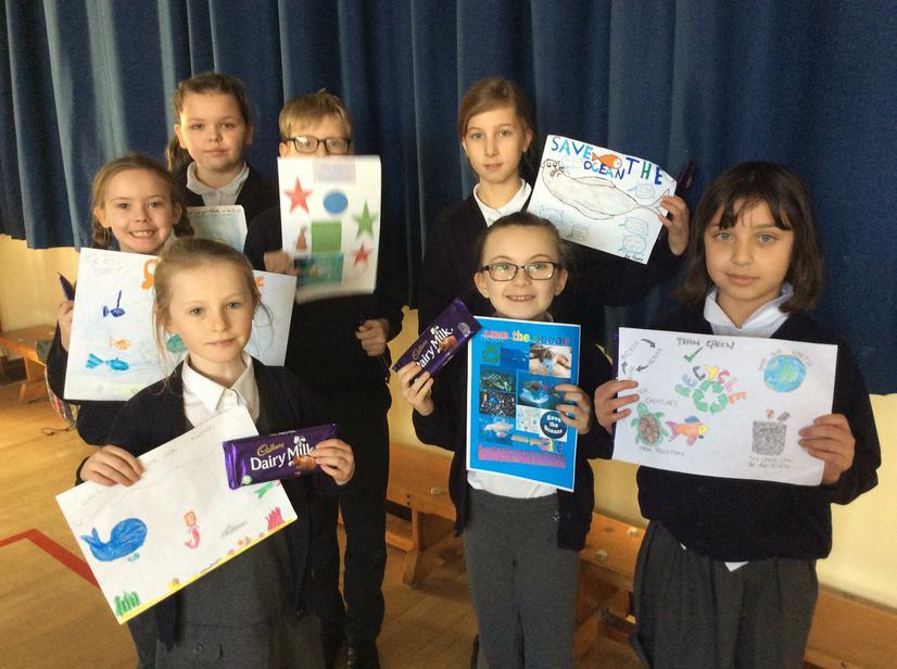 School Council poster winners 🏅