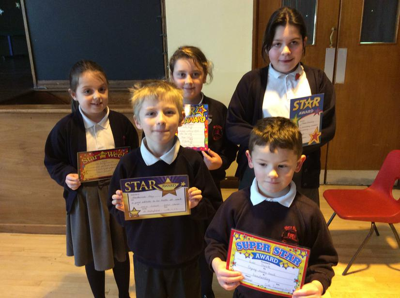 🌟Stars of the week 13/1/17🌟