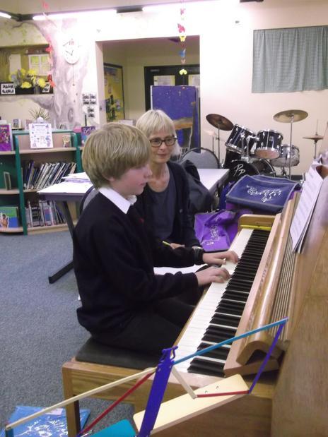 Mrs Jenny Brookfield - Piano Teacher