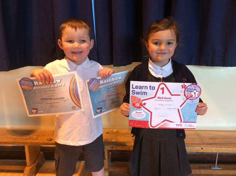 Well done to our swimming achievers 🏊♀️ 🏊♂️