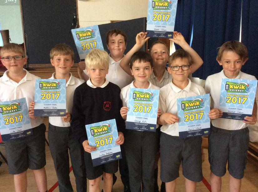 Top 4th School team in Wiltshire- Well done.
