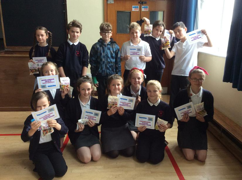 Well done for completing the year 6 Egg Challenge!