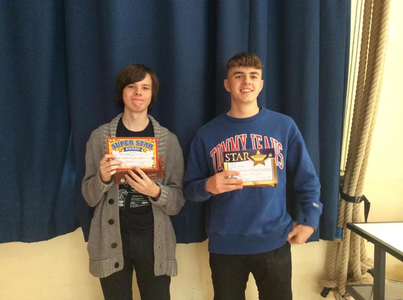 Fantastic work experience week for past pupils.