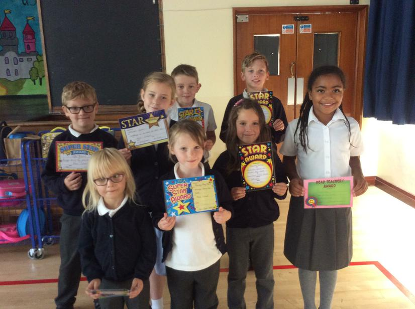 Our weekly stars 16/09/16