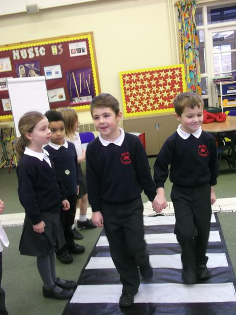 Year 1 learning to keep safe
