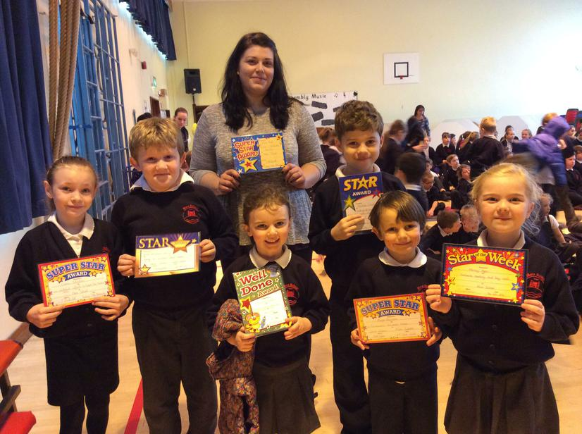 Congratulations to our weekly superstars - 5/2/16