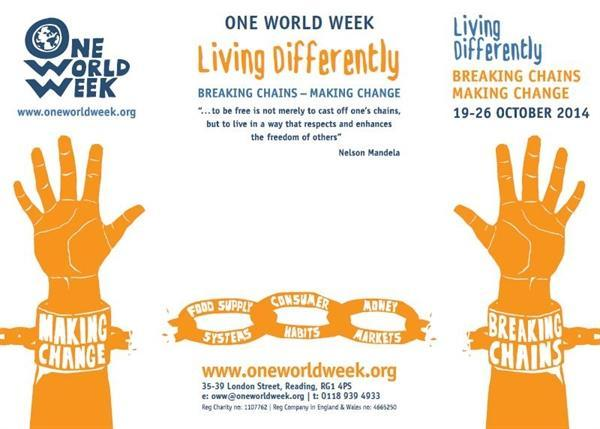 Taking Part in One World Week