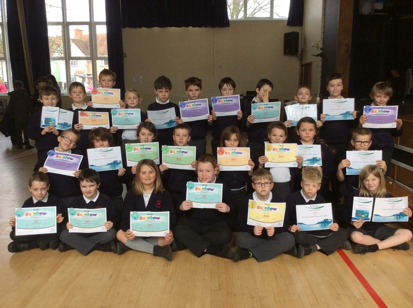 Congratulations to our swimmers in Year 4.