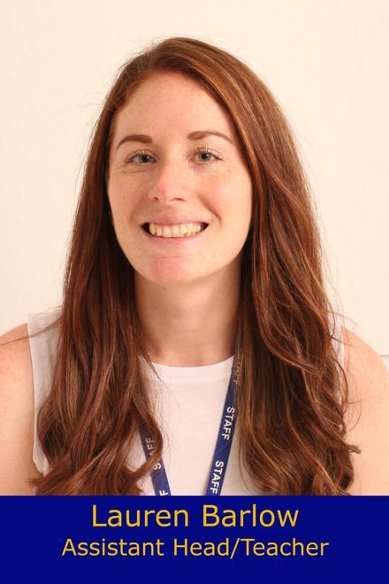 Lauren Barlow- Assistant Headteacher/Elm class