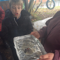 Outdoor learning at Forest School!