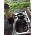 More mud kitchen fun!