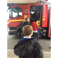 A WOW visit from the Fire Service!