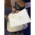 Look at my fantastic emergent writing!