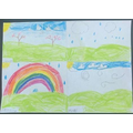 Amazing home learning: a weather chart.