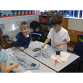 Science week - dissecting owl pellets