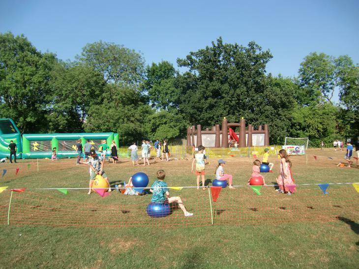We had bouncy balls too!