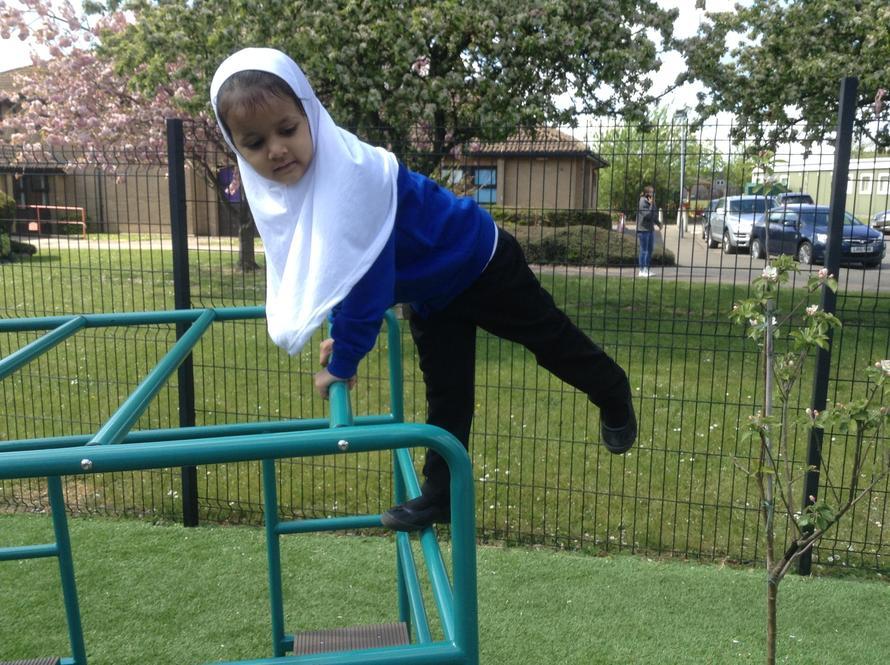 I just love balancing..