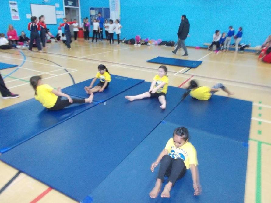 Our Gymnasts showed great confidence.