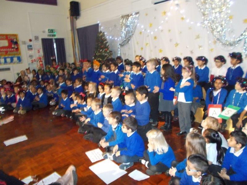 The KS1 celebration was enjoyed by all our parents.