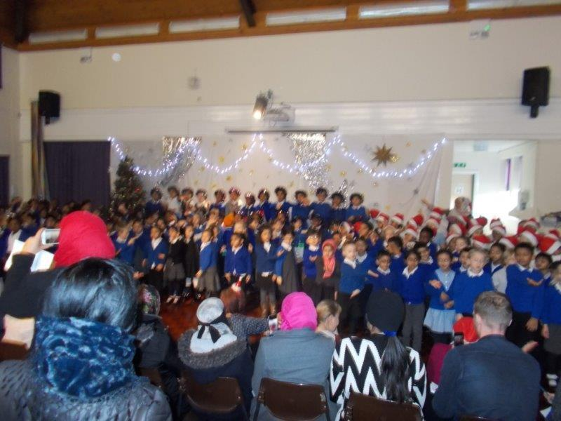The children loved performing in the nativities.