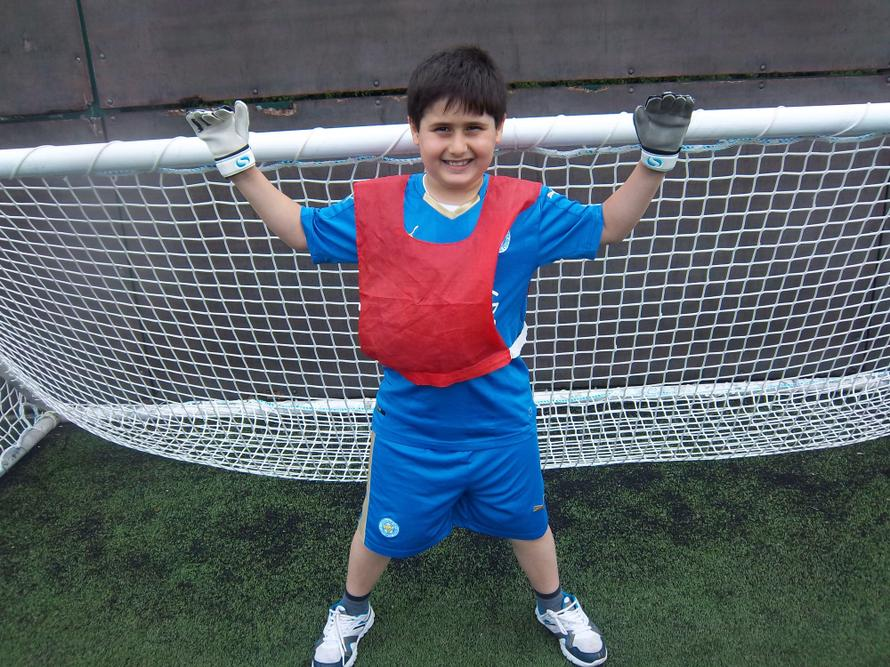 Nothing will get past our goalie at the Football tournament.